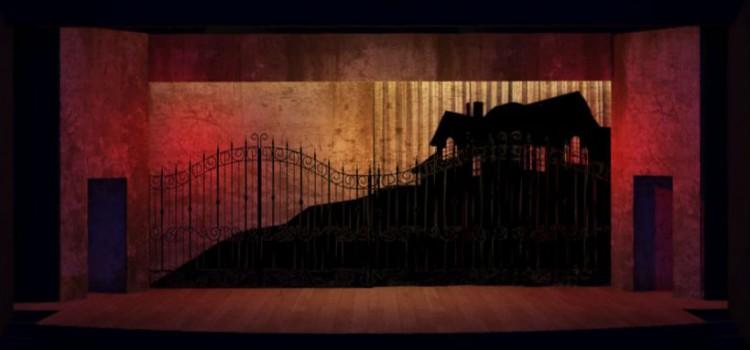 Projeto de Rogério Falcão do cenário de 'O Que Terá Acontecido a Baby Jane?'; a versão de Charles Möeller e Claudio Botelho estreia em 19/8 no Teatro Porto Seguro (Divulgação)